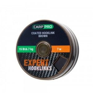 Повод HOOKLINK COATED BROWN 7M