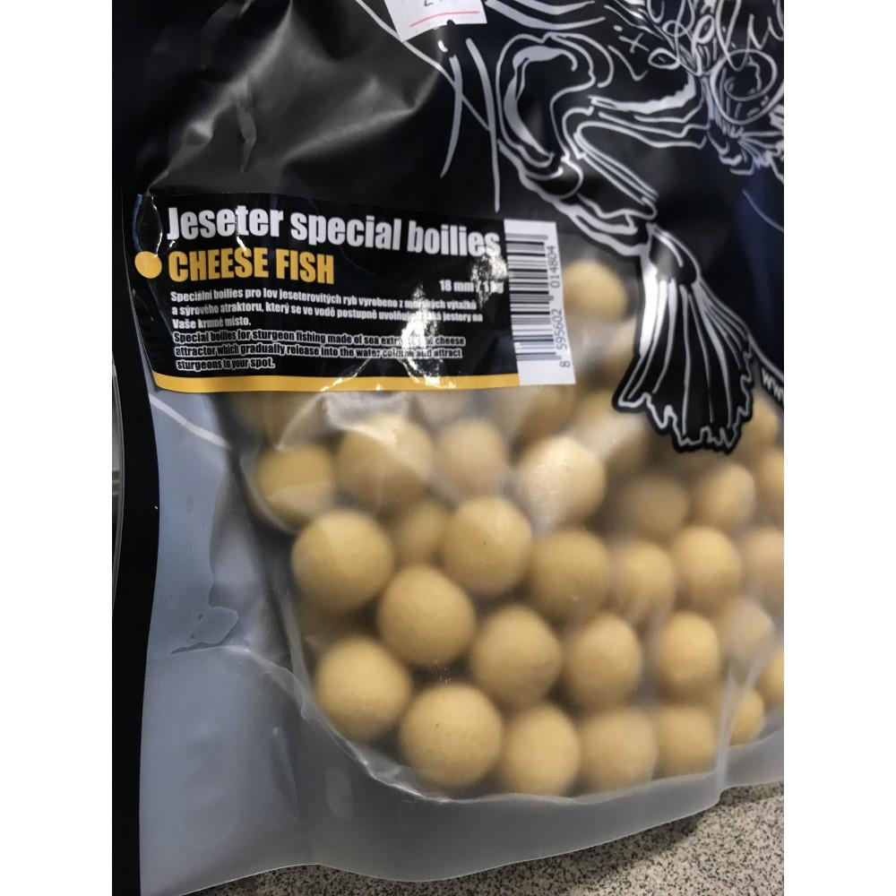 Протеинови топчета с аромат на сирене и риба 18 мм. - 1 кг.