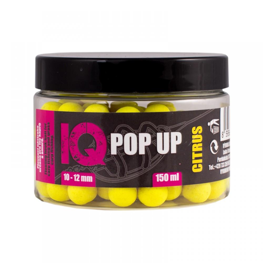 Попъп фидер протеинови топчета с размер 10 - 12 мм 150 мл с аромат цитрусов