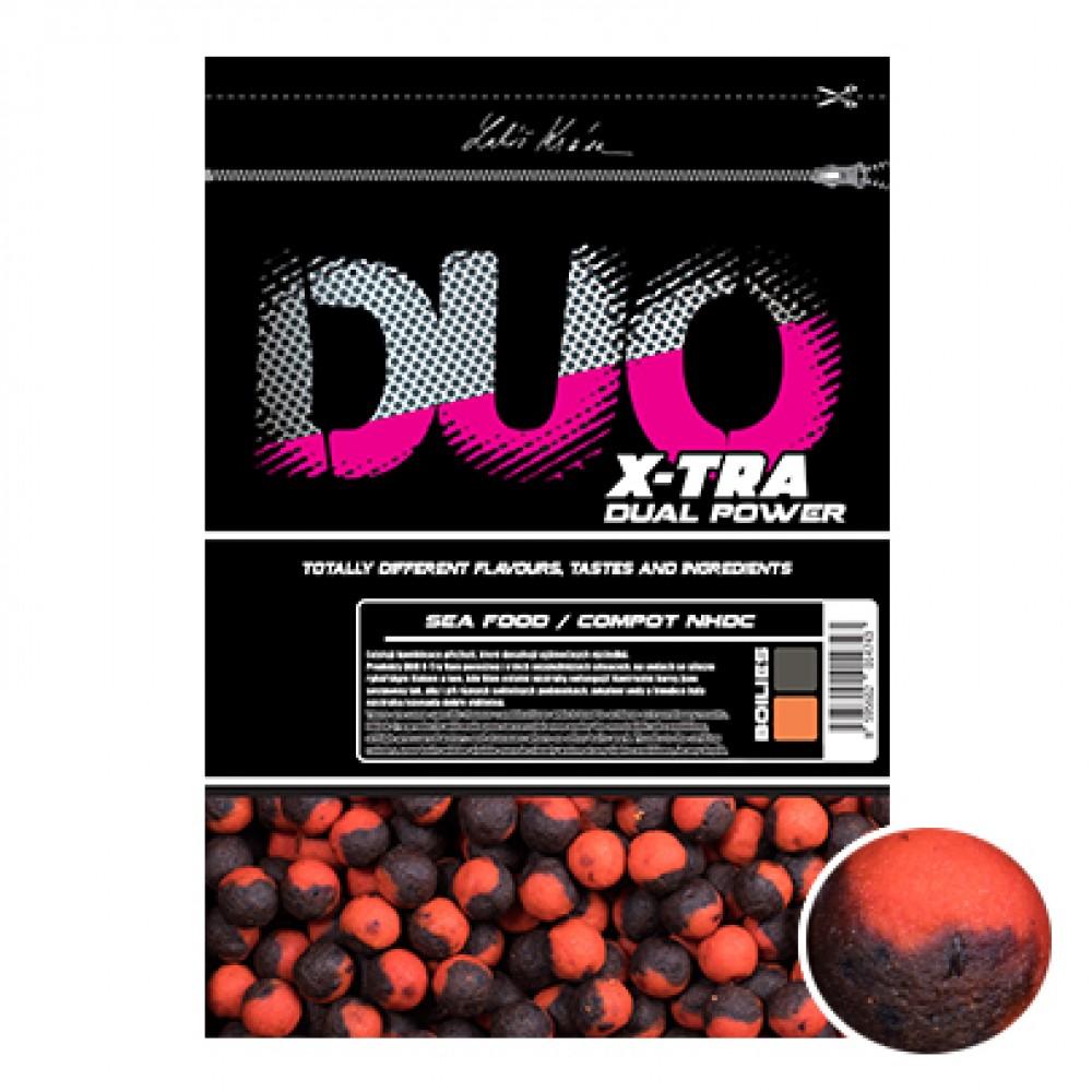 Протеинови топчета двойни с аромат на Морски Дарове и Compot NHDC 14мм 800гр