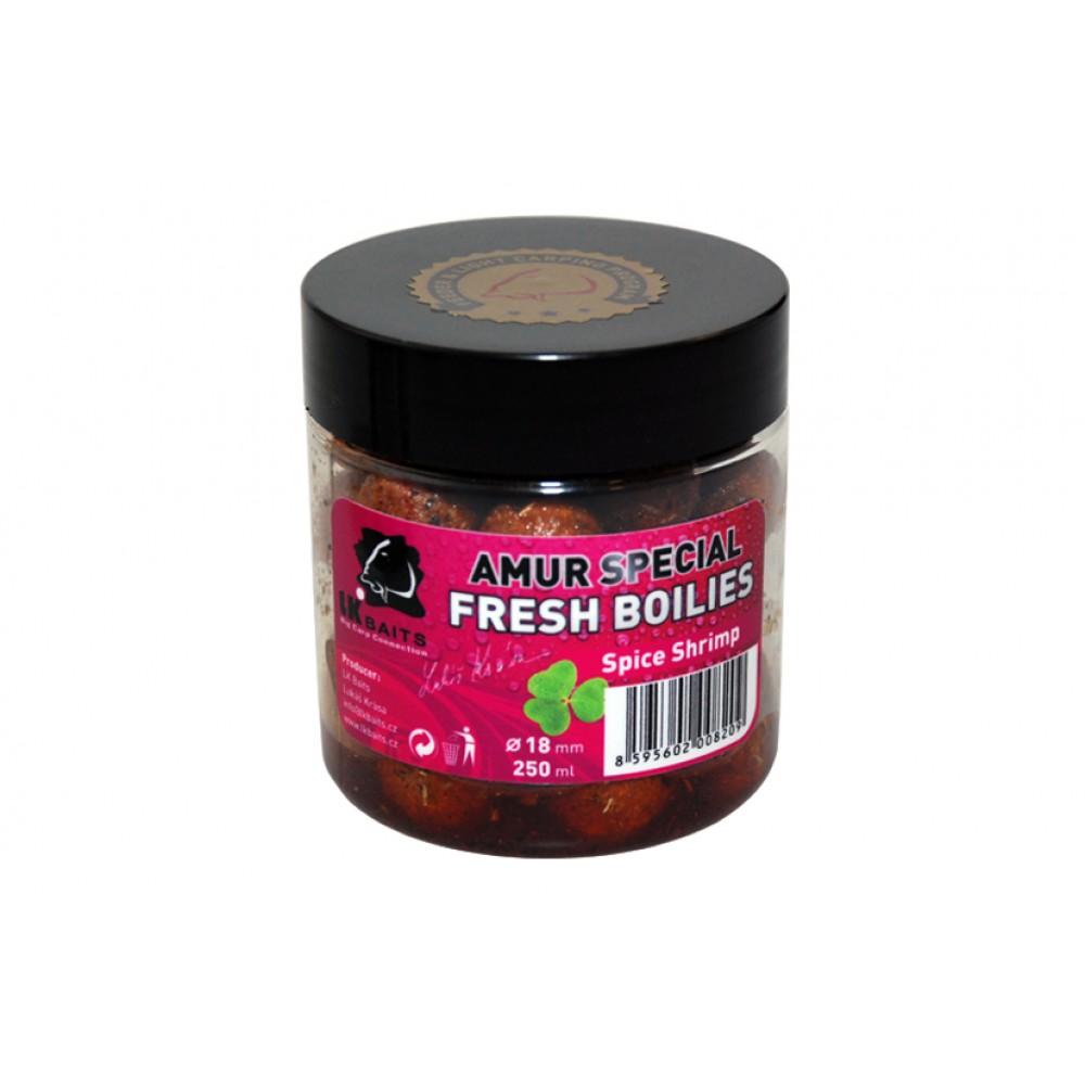 Свежи протеинови топчета с аромат на Amur Special Spice Shrimp 18mm 250ml
