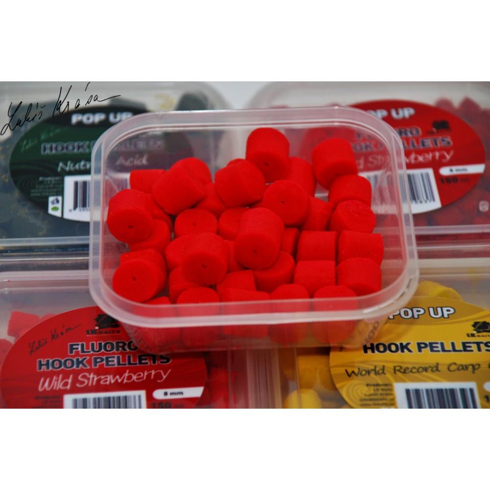 Пелети за стръв в кутийка - 12mm 150 мл Дива ягода