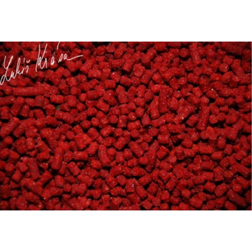 RESTART PELLET WILD STRAWBERRY 4MM, 5KG + BOOSTER 100ML