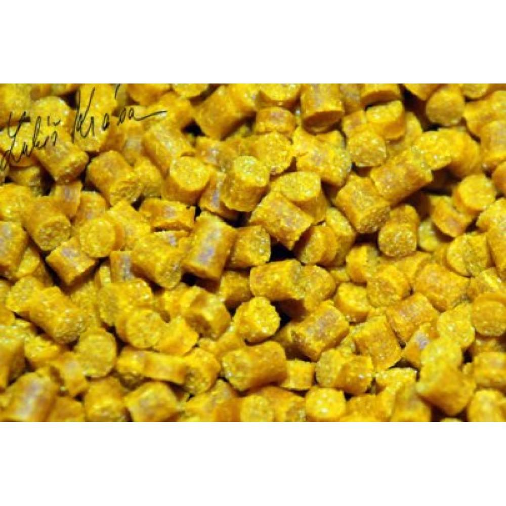 Пелети за риболов с аромат на царевица с размер 4mm