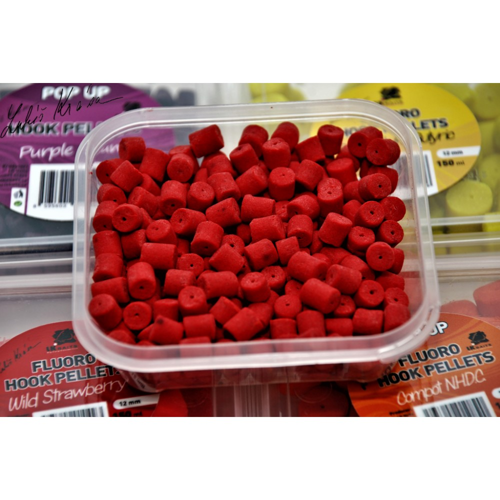 Флоро попъп пелети в кутийка с аромат на дива ягода - 8мм 150мл