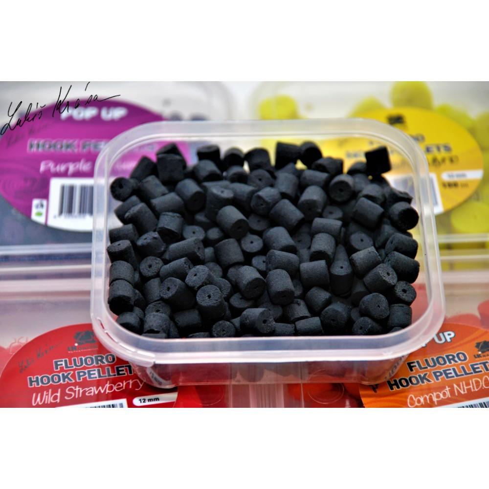 Попъп пелети в кутийка за стръв с аромат на Черен Халибут- POP-UP BLACK HALIBUT 150ML, 8MM