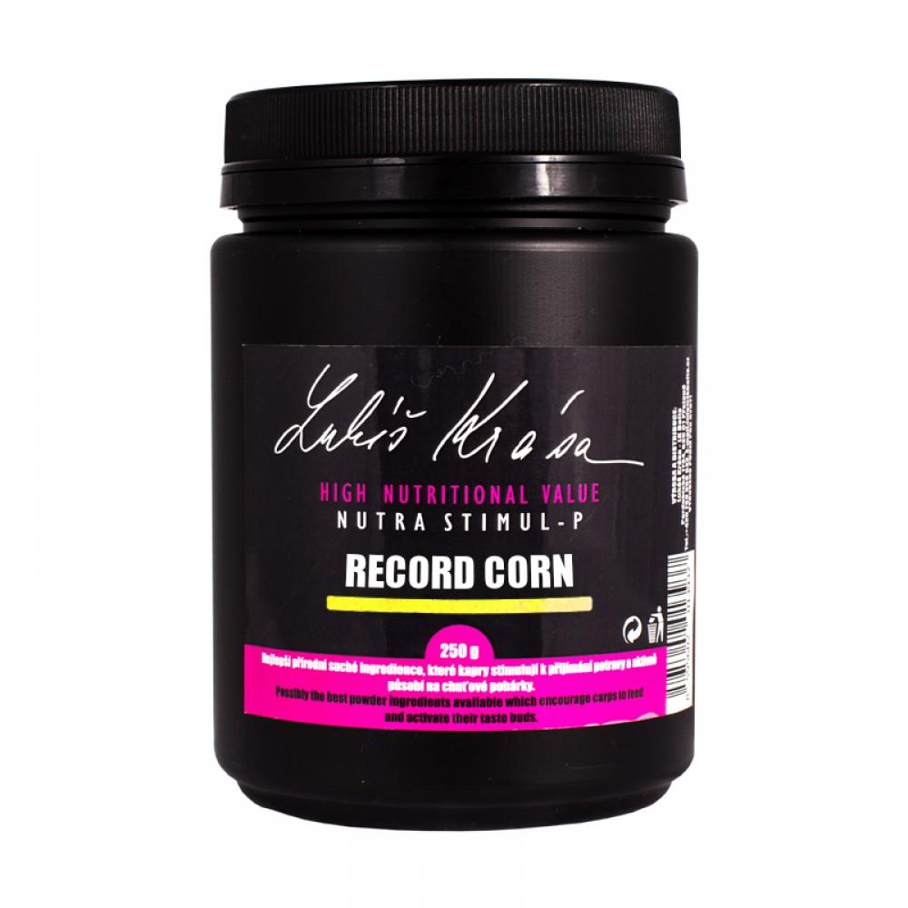 Пудра с аромат на царевица на  LK BAITS LUKAS KRASA NUTRA STIMUL -P RECORD CORN 250G