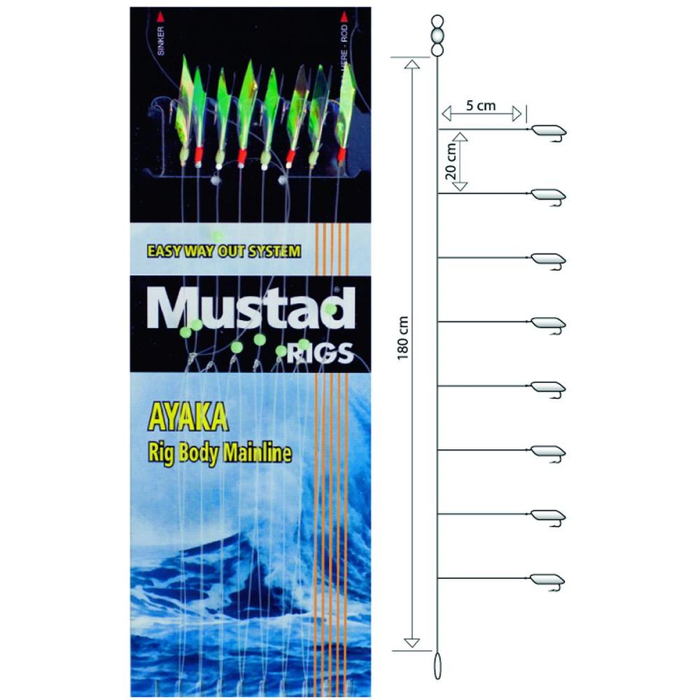 Чепаре  #12 MUSTAD BAIT CATCHER RIG T89-12-312